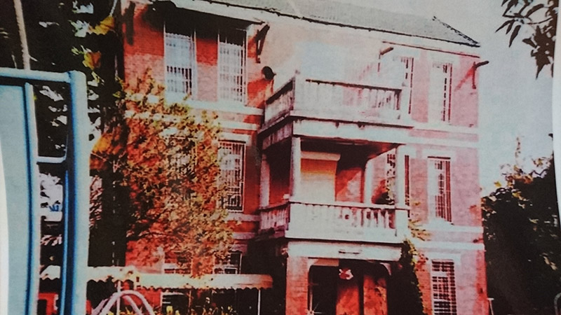 小說中寫到的三棧西洋紅樓,現已拆除。